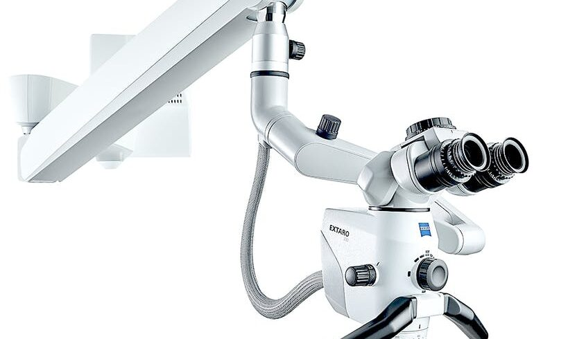 Root canal with microscope